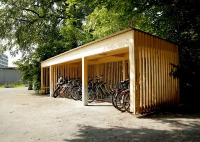Andi Steinemann Construction - Bicycle Shed