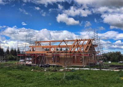 Construction Prefab Bio Solar House Andi Steineman 7070 1050