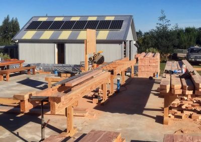 Timber For Precut Bio Solar House Andi Steinemann